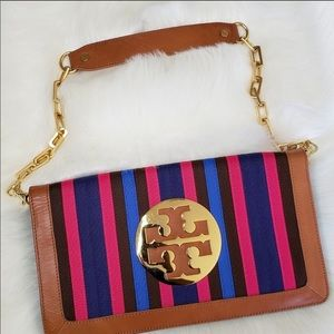 Tory Burch Ribbon Reva Clutch